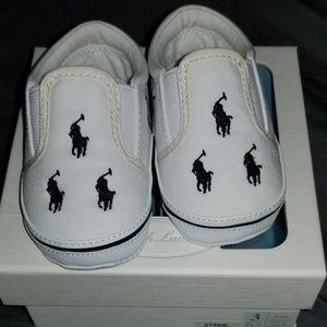 fc79a4e81ea Ralph Lauren Shoes - Ralph Lauren Polo shoes (infants)